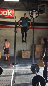 Second to last Muscle Up of the workout